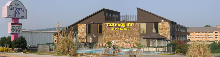 Gateway Inn of the Ozarks on West Highway 76 in Branson, Missouri